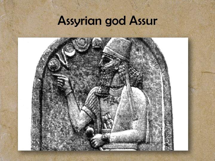 Assyrian god Assur