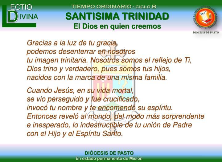 SANTISIMA TRINIDAD