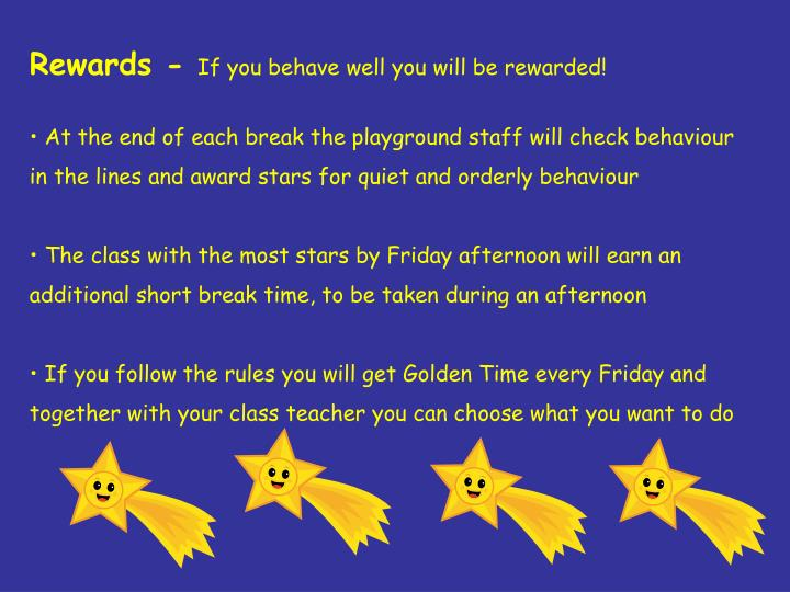 Rewards -