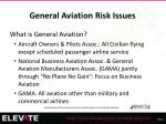 general aviation risk issues1