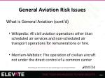 general aviation risk issues2