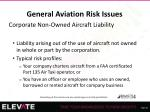general aviation risk issues24