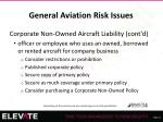 general aviation risk issues27