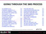 going through the sms process1