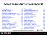 going through the sms process2