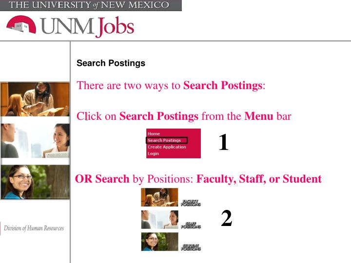 Search Postings