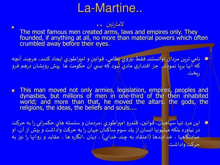 La-Martine..