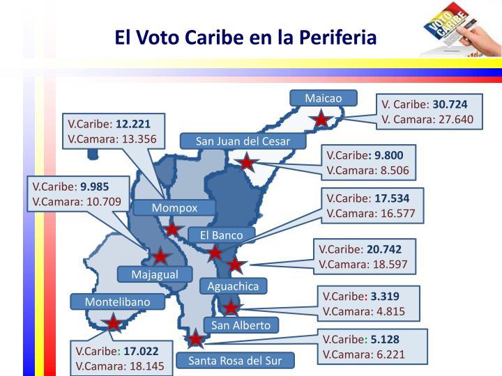 El Voto Caribe en la Periferia