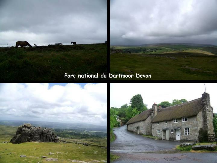 Parc national du Dartmoor Devon
