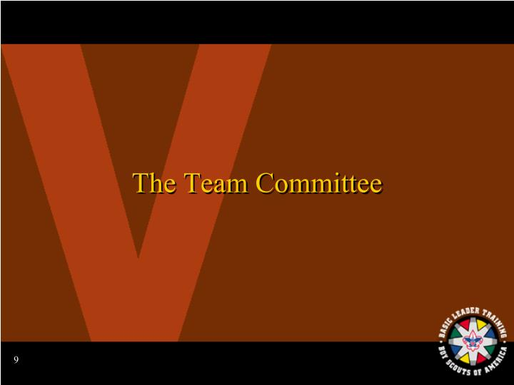 The Team Committee