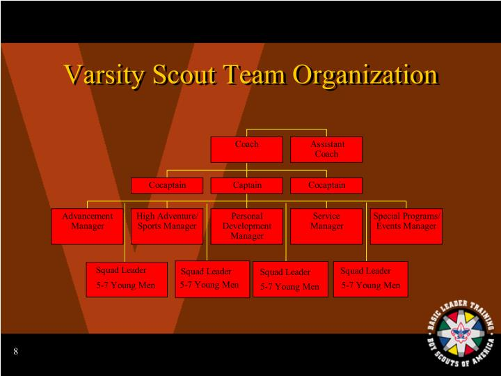 Varsity Scout Team Organization