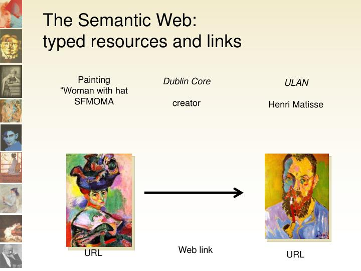 The semantic web typed resources and links