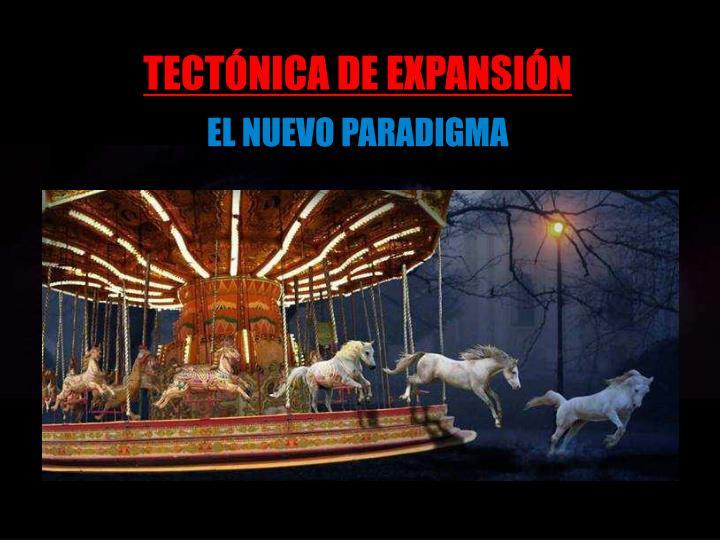 TECTÓNICA DE EXPANSIÓN