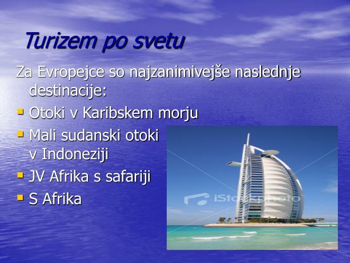 Turizem po svetu