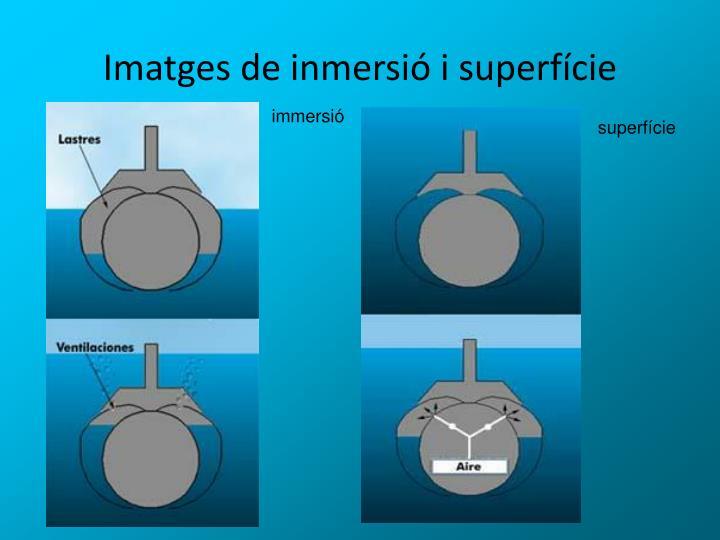 Imatges de inmersió i superfície