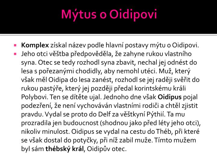Mýtus o Oidipovi