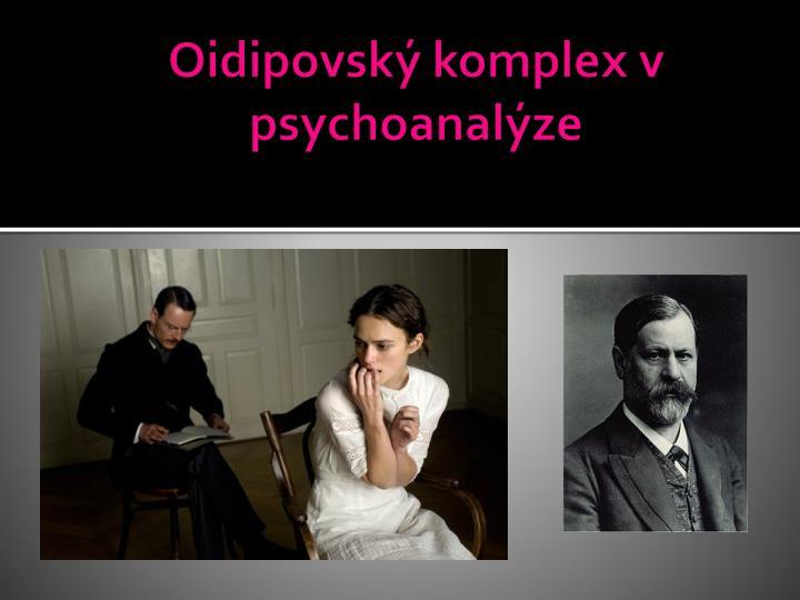 Oidipovský komplex v psychoanalýze
