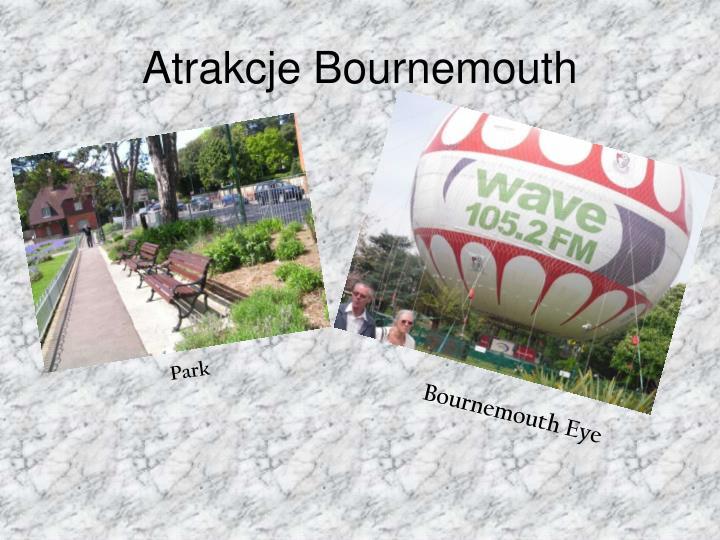 Atrakcje Bournemouth