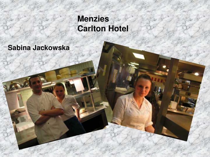 Menzies Carlton Hotel
