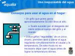 consejos para usar el agua en el hogar1