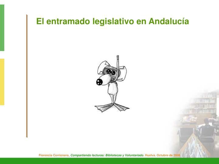El entramado legislativo en Andalucía