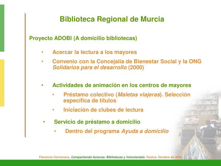 Biblioteca Regional de Murcia