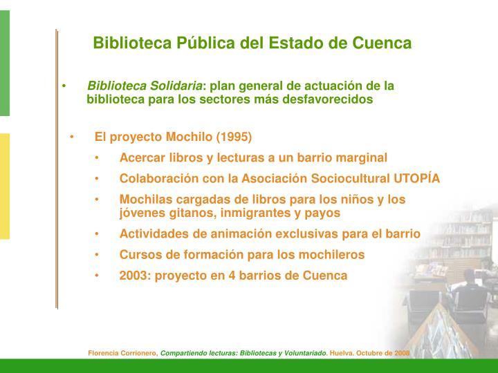 Biblioteca Pública del Estado de Cuenca