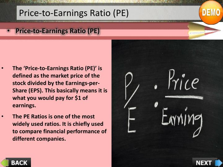 Price-to-Earnings Ratio (PE)