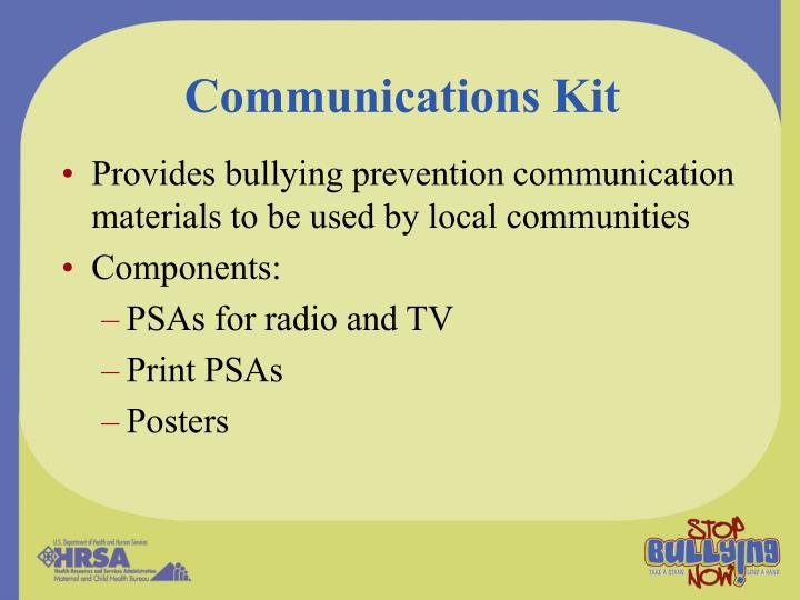 Communications Kit