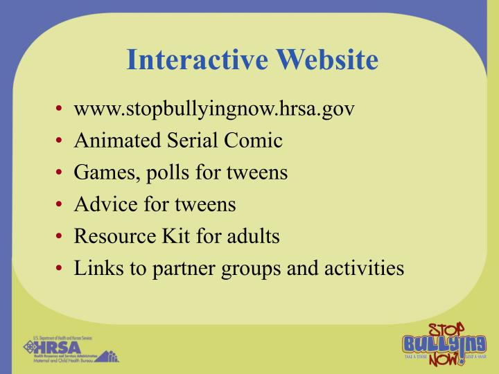 Interactive Website