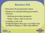 resource kit