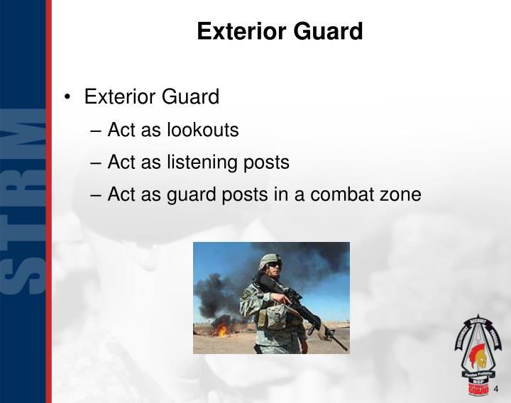 Exterior Guard