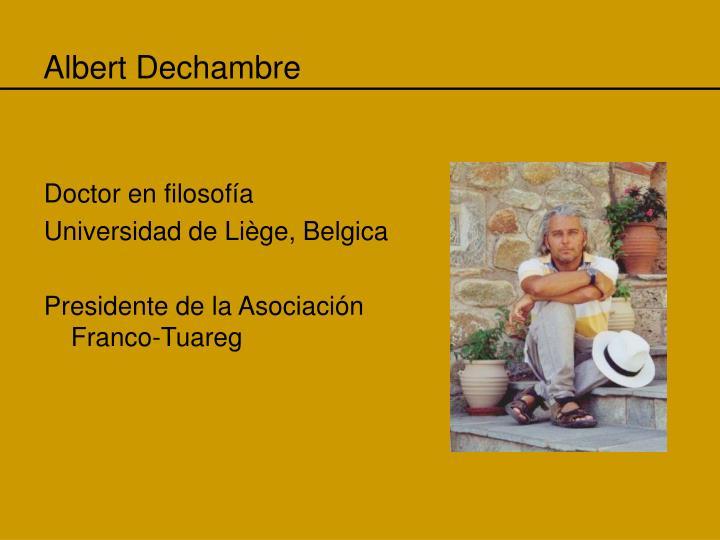 Albert Dechambre