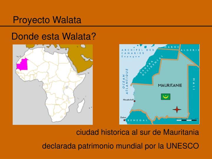Proyecto Walata