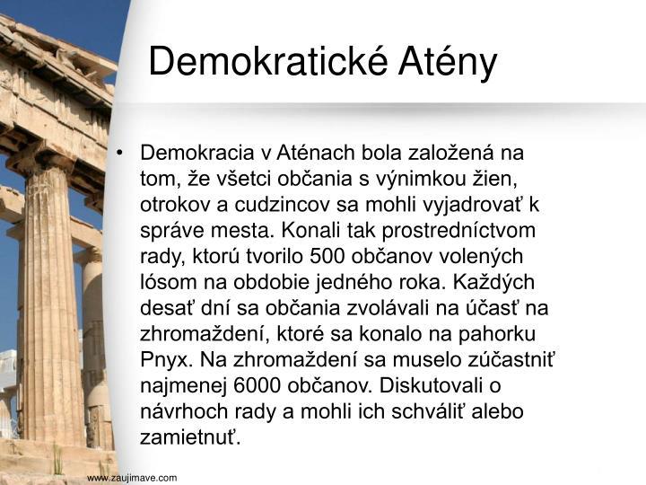 Demokratické Atény