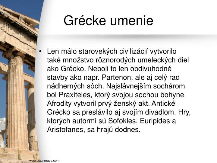 Grécke umenie