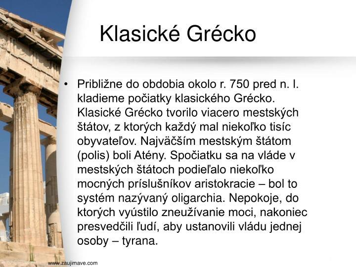 Klasické Grécko