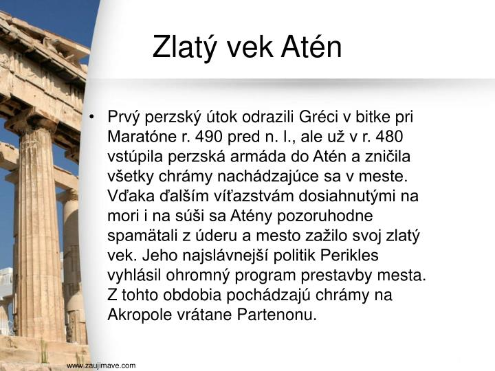 Zlatý vek Atén