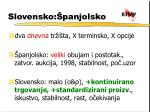 slovensko panjolsko