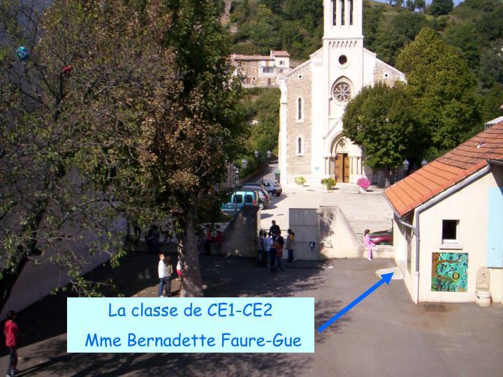La classe de CE1-CE2