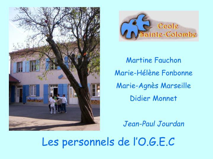 Martine Fauchon