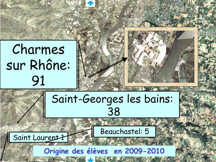 Charmes sur Rhône: 91