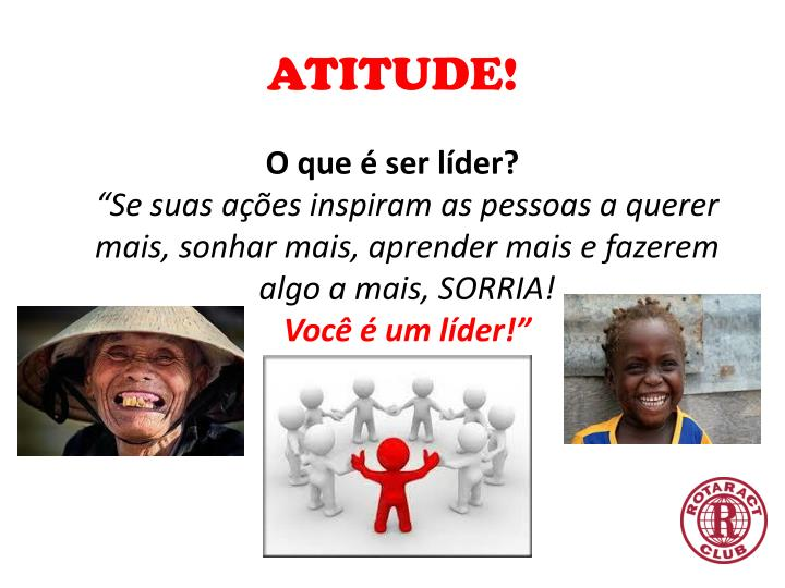 ATITUDE!
