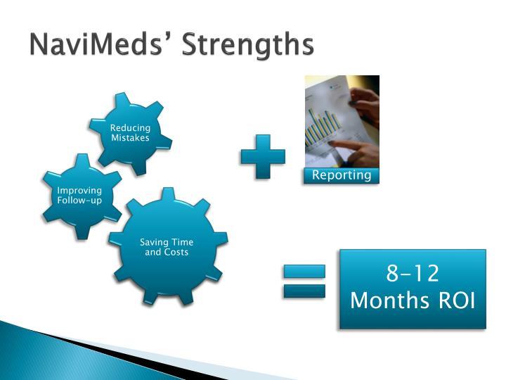 NaviMeds' Strengths