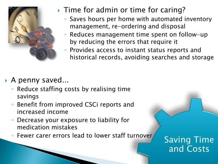 Time for admin or time for caring?