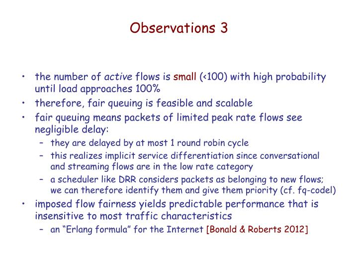 Observations 3