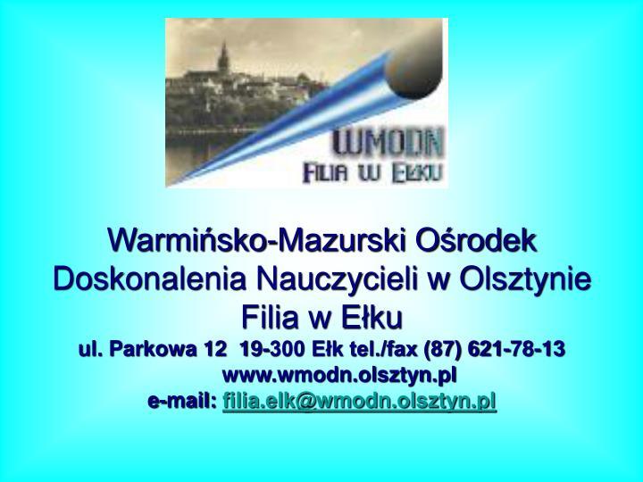 Warmińsko-Mazurski Ośrodek