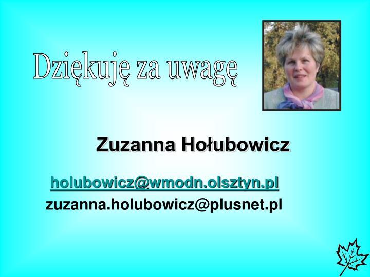 Zuzanna Hołubowicz