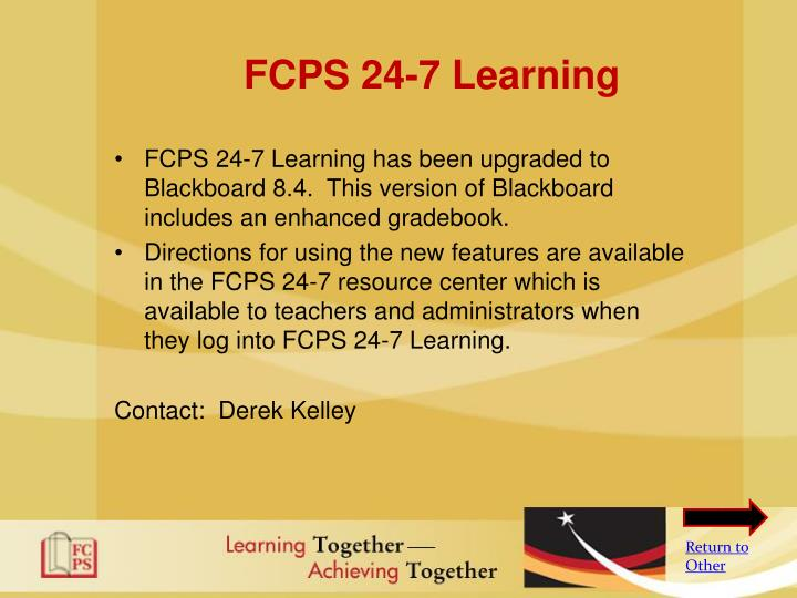 FCPS 24-7 Learning