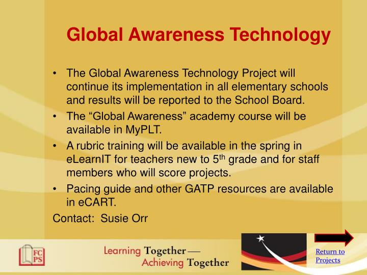 Global Awareness Technology
